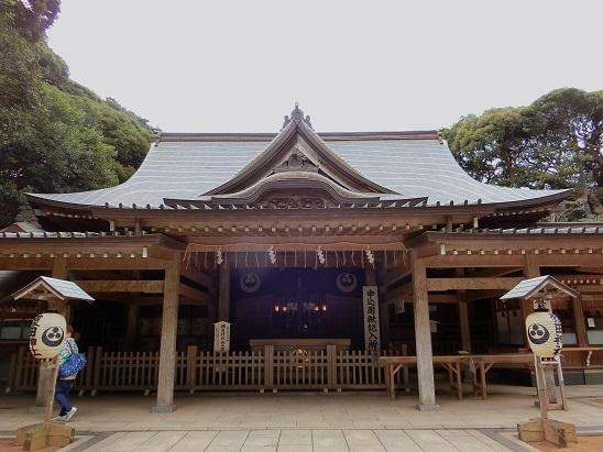 猿田神社拝殿