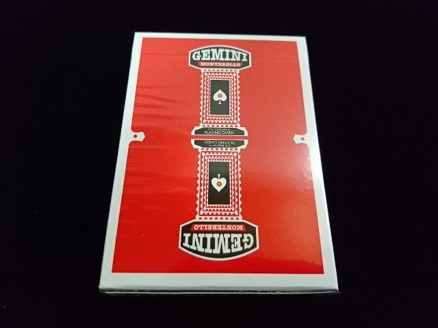 GEMINI CASINO Playing Cards Red (1)