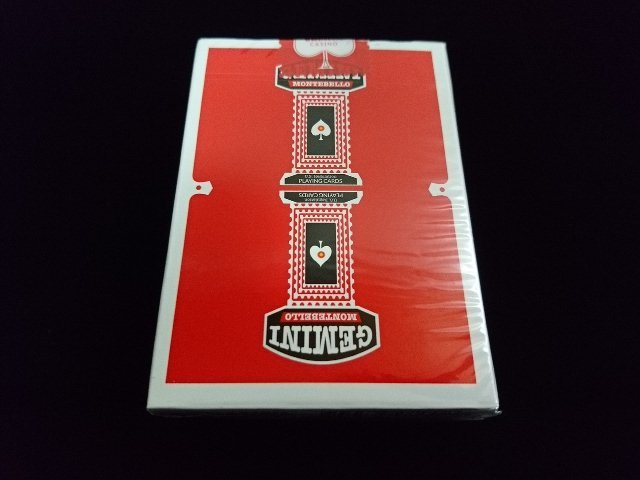 GEMINI CASINO Playing Cards Red (2)