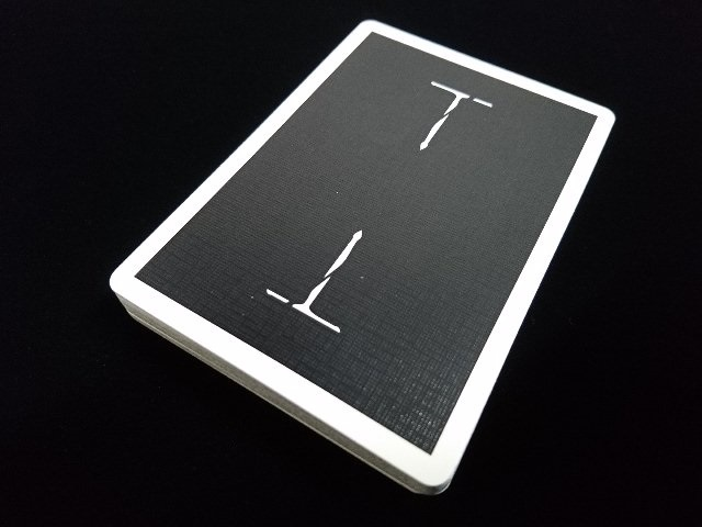 Classic T Playing Cards Black A