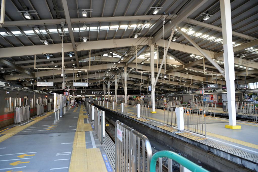 東急蒲田駅 ドームタイプ