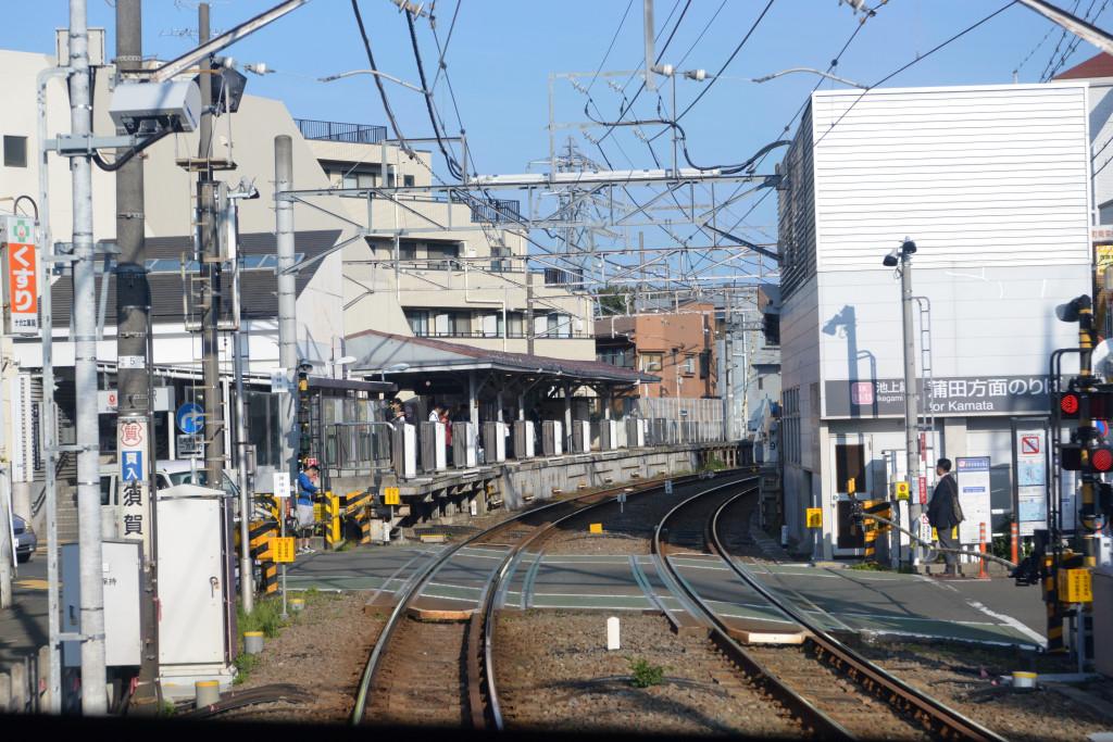 千鳥町駅間近