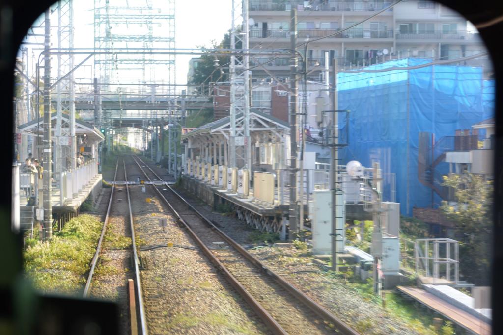 石川台駅 間近