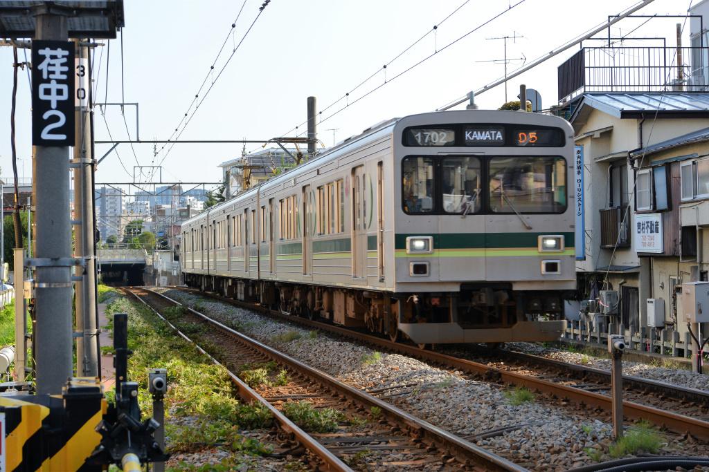 荏原中延駅から来た1000系1500番台