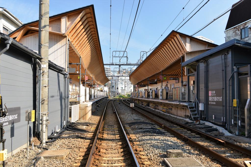戸越銀座駅 ホーム