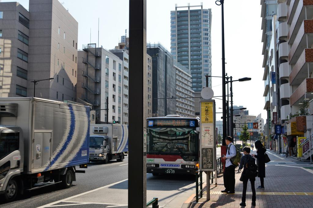 環6 渋谷駅行き 東急バス