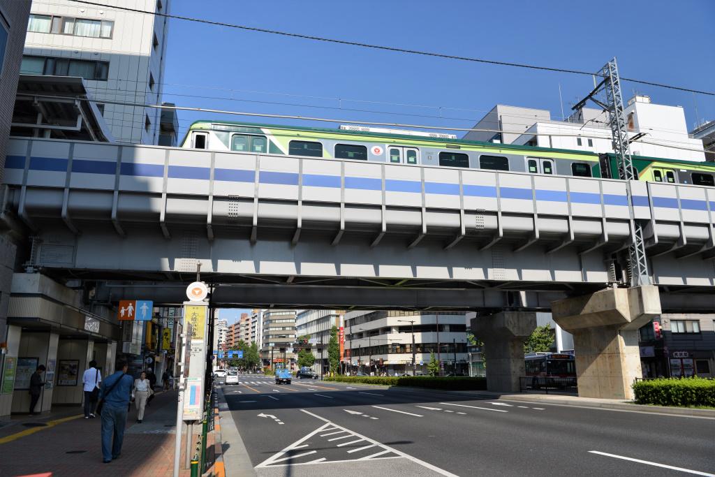 大崎広小路駅前ガード