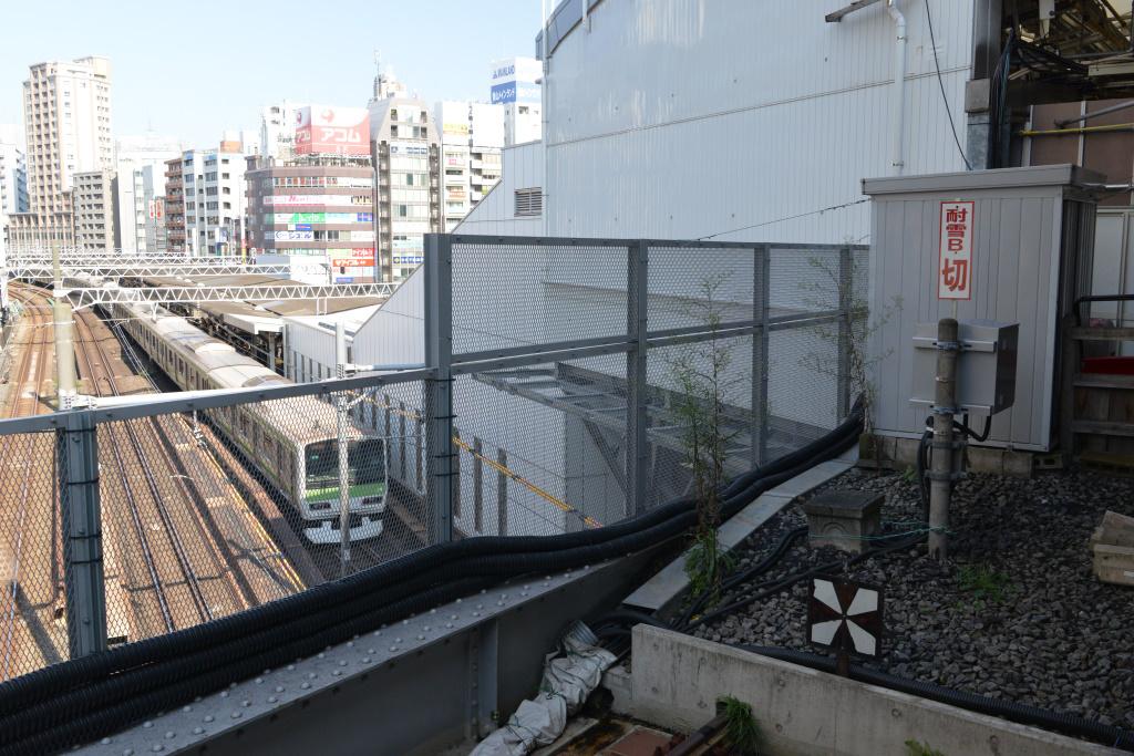 JR五反田駅ホームを見下ろす