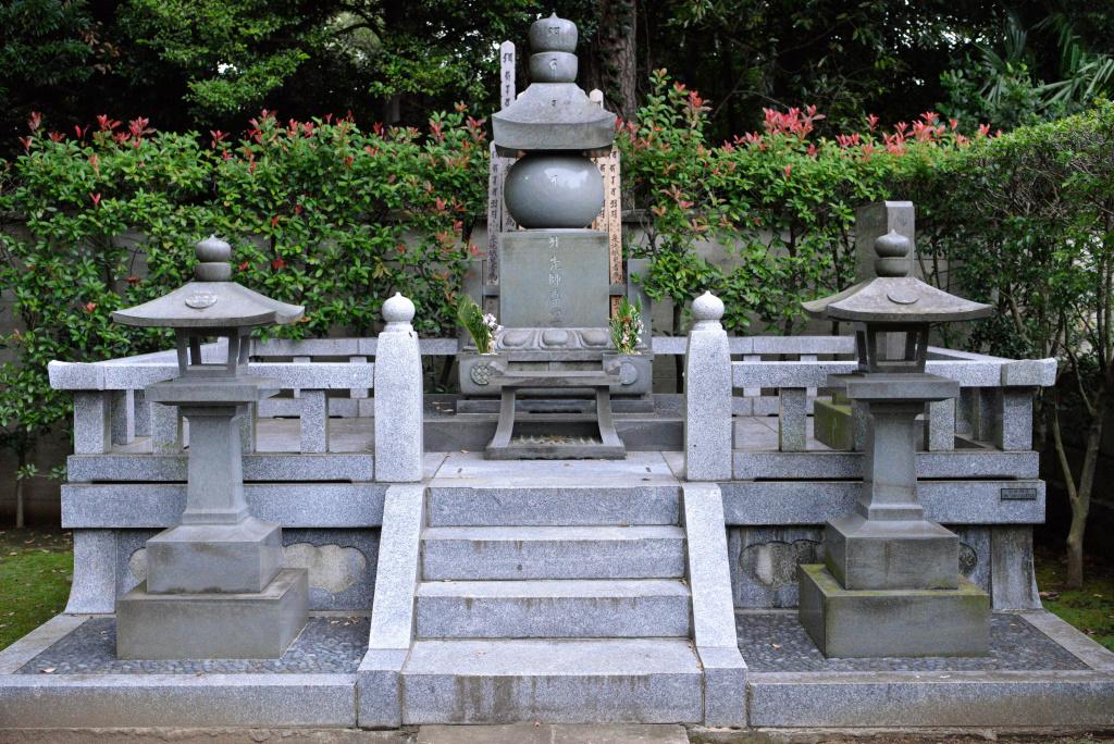 護国寺 歴代開山墓 3