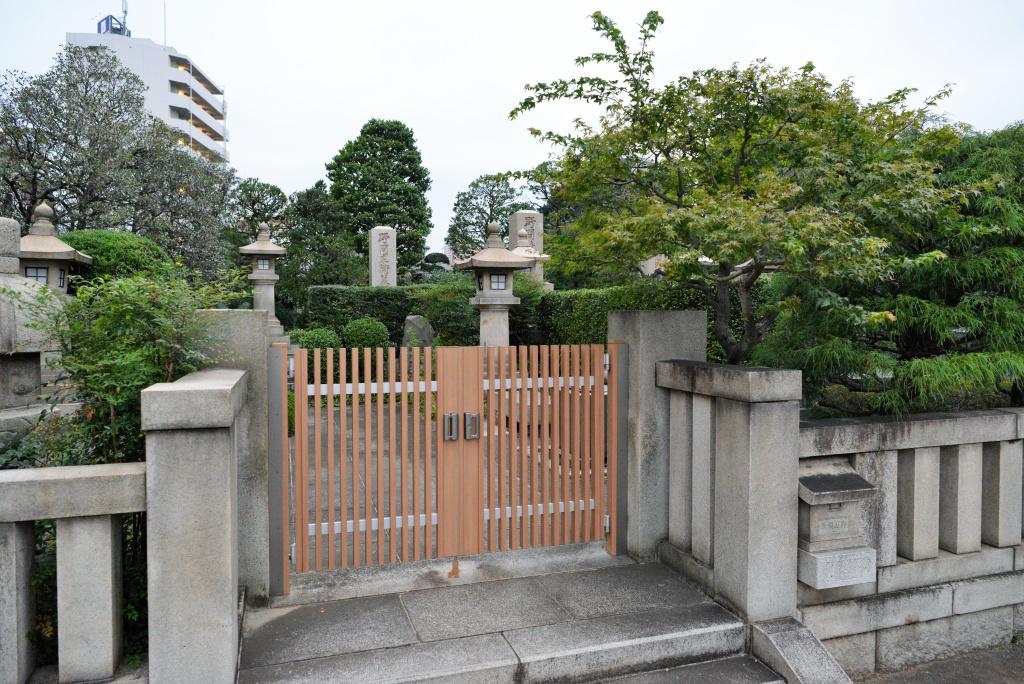 野間家墓所 1