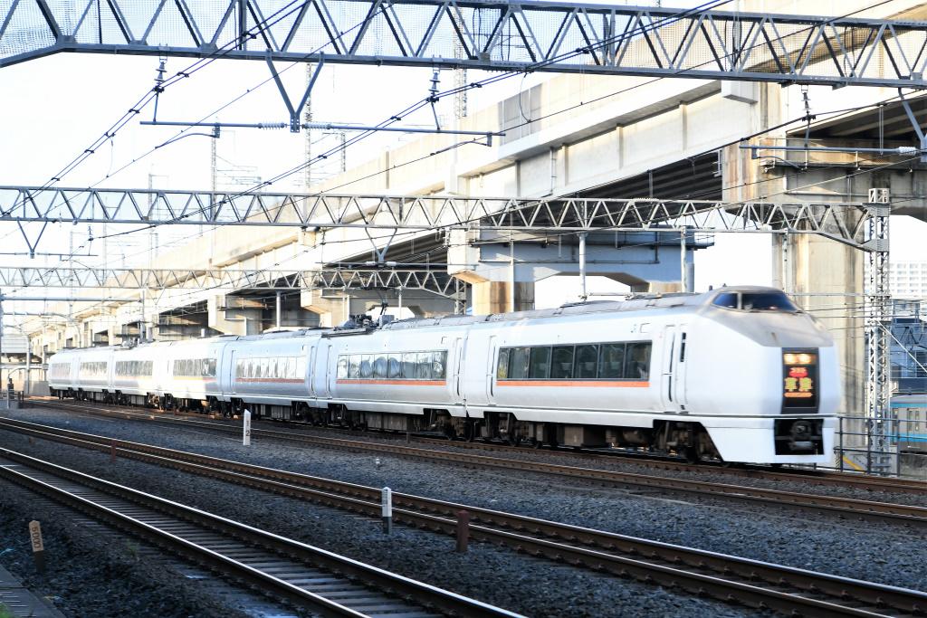 特急草津2号 E651系1000番台