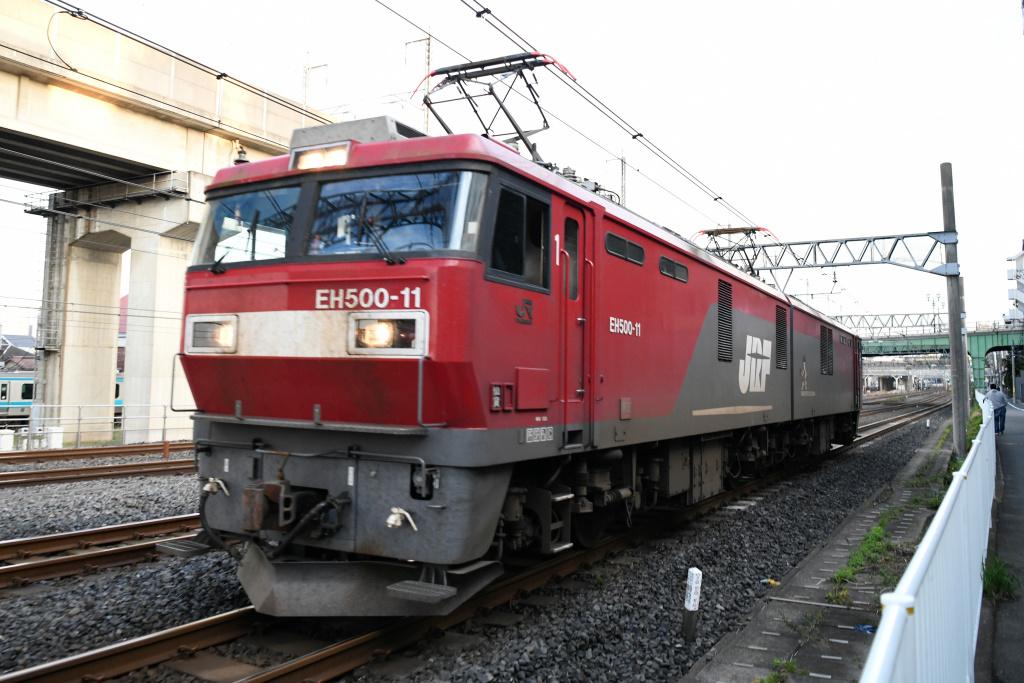 EH500-11号機 単機回送