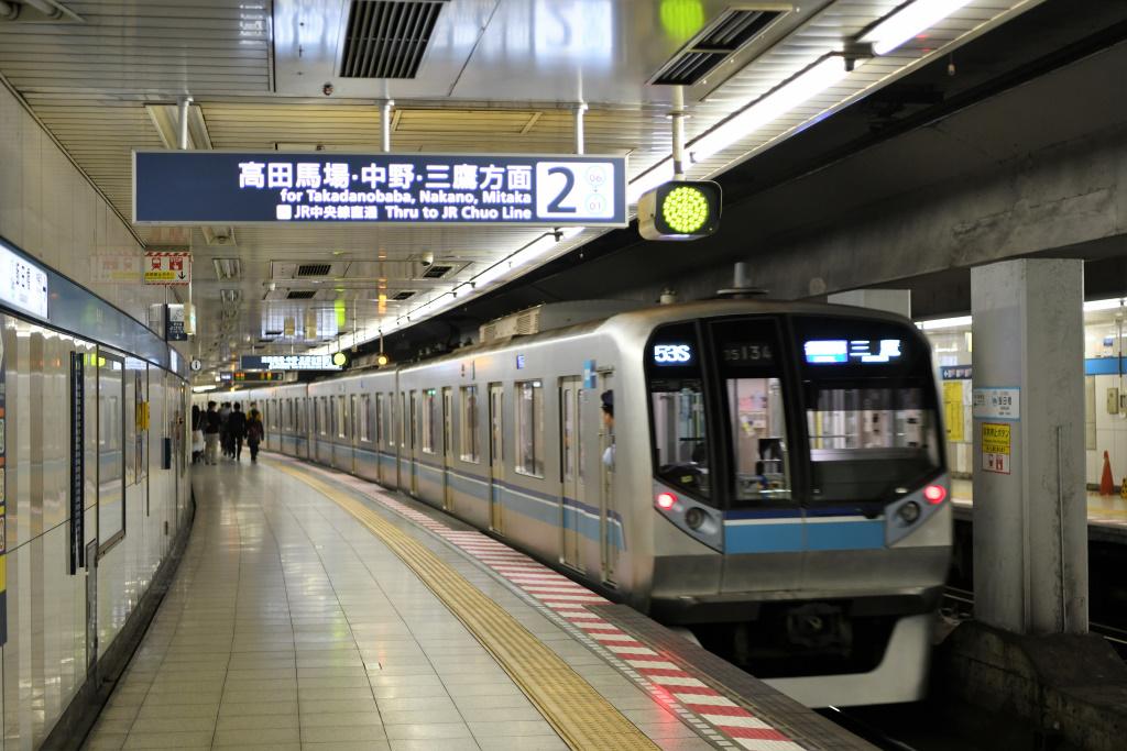 東西線 飯田橋駅 ホーム