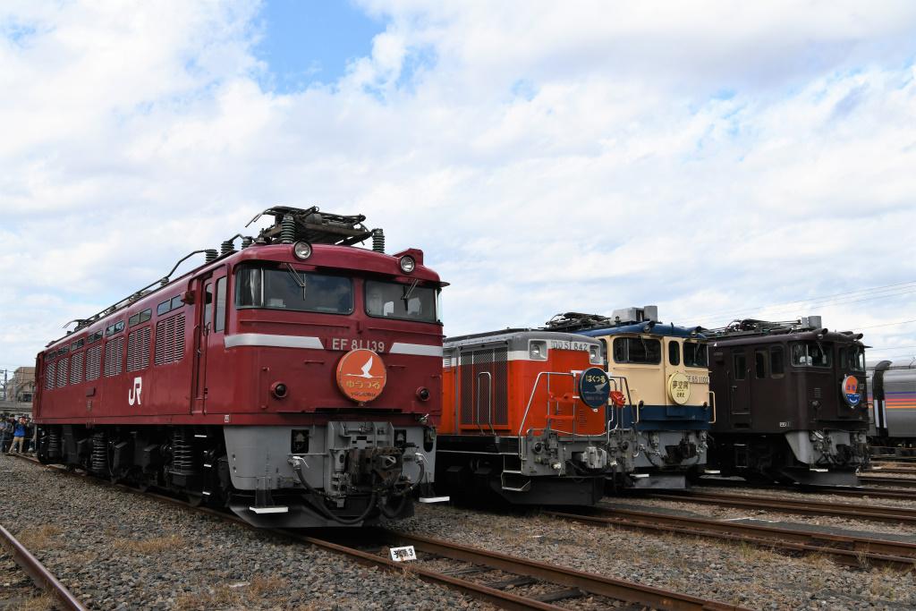 機関車 集合写真 1
