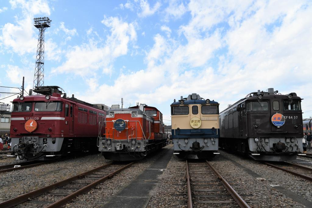 機関車 集合写真 2
