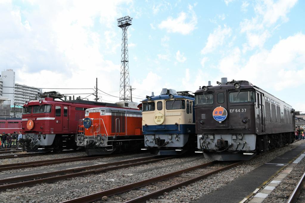 機関車 集合写真 3