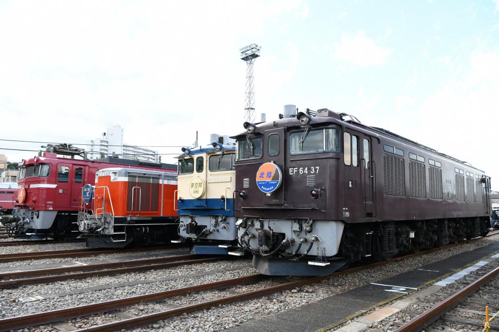 機関車 集合写真 4