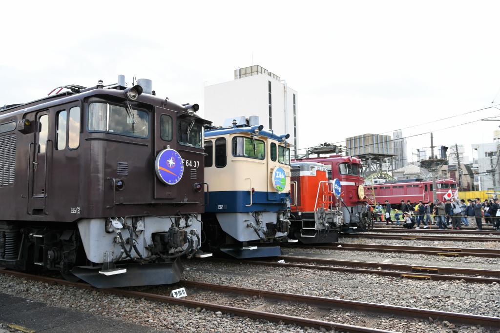 機関車 集合写真 5