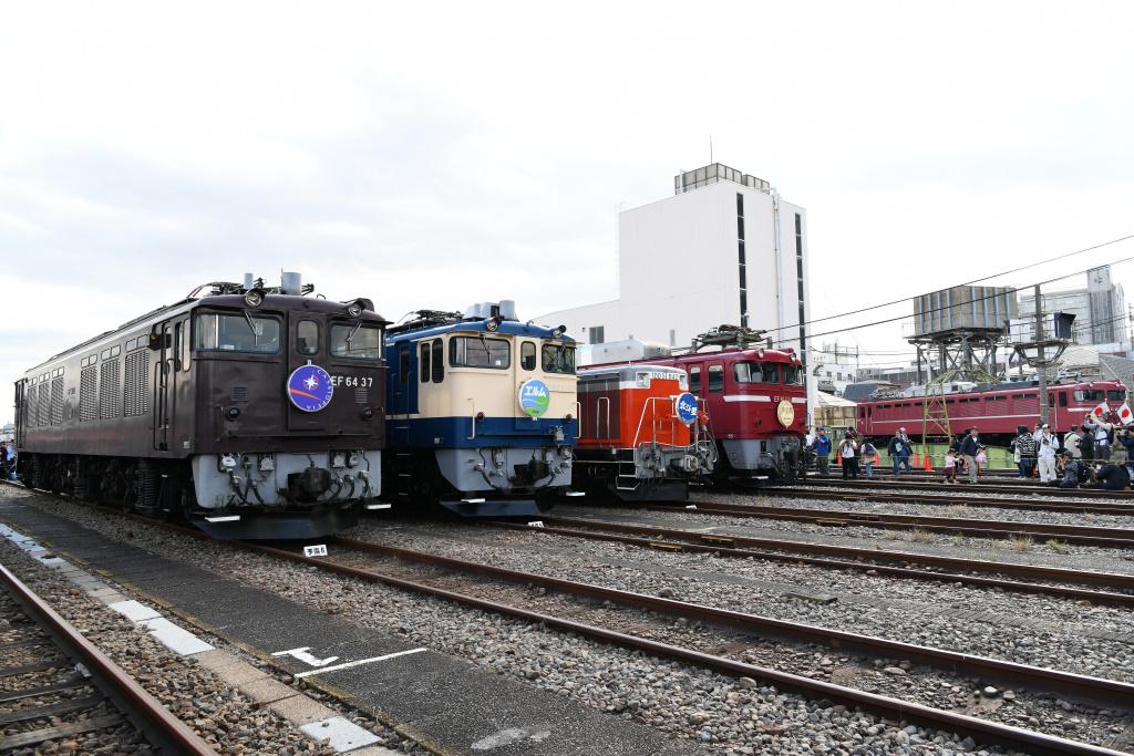 機関車 集合写真 6