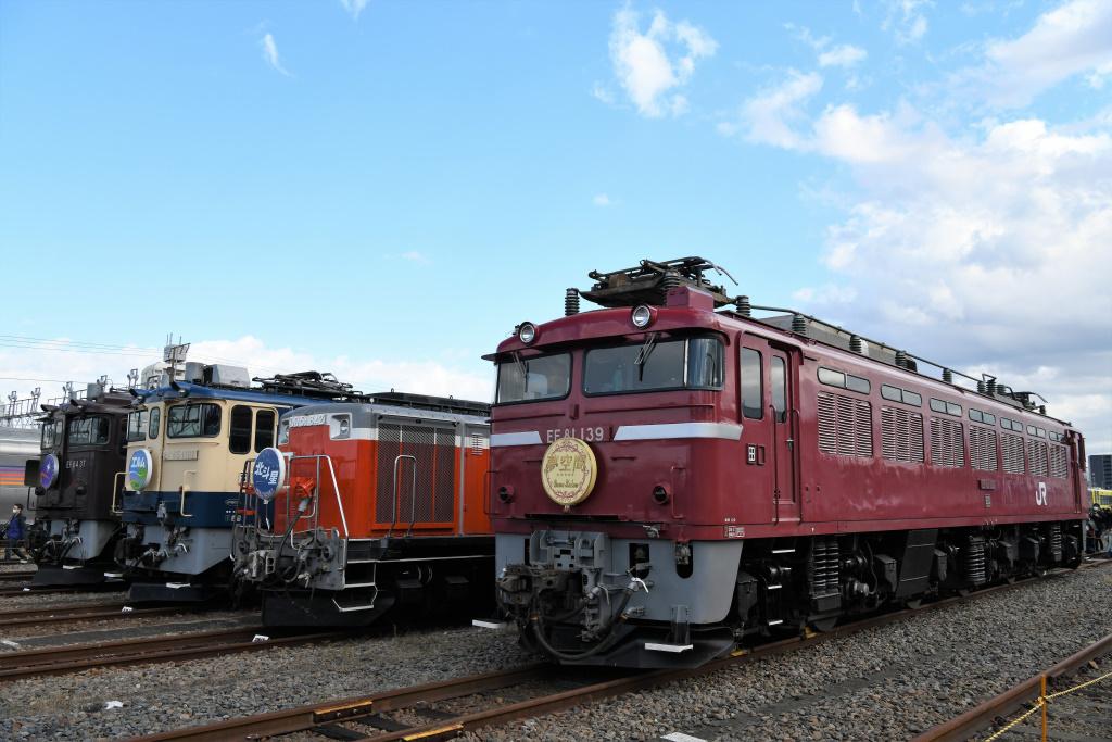 機関車 集合写真 7