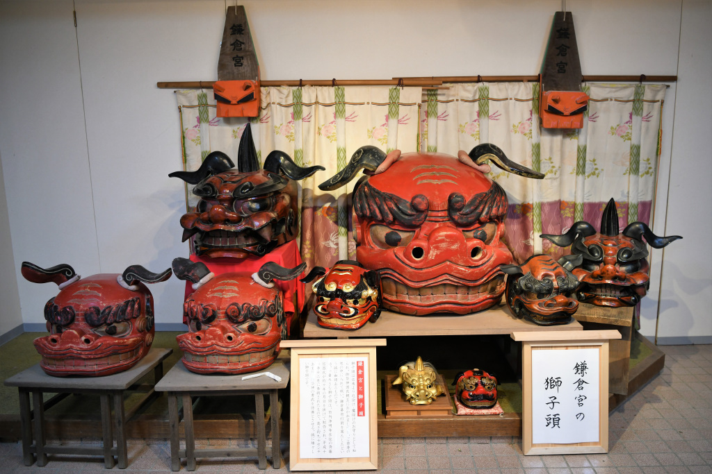 鎌倉宮の獅子頭