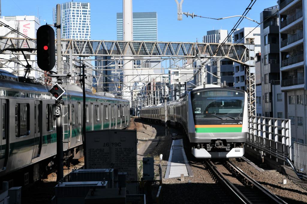 湘南新宿ライン & 埼京線