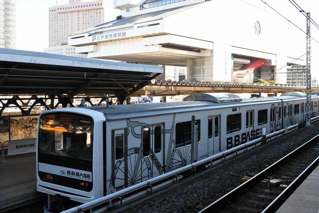 JR両国駅 2番線ホームから 1