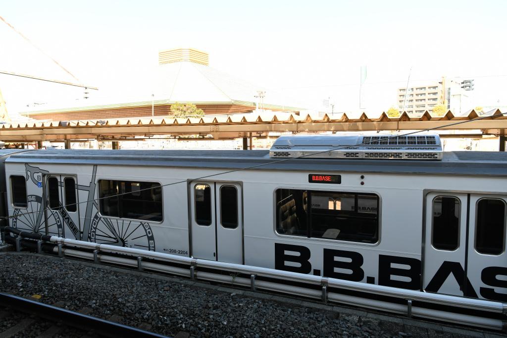 JR両国駅2番線ホームから 2