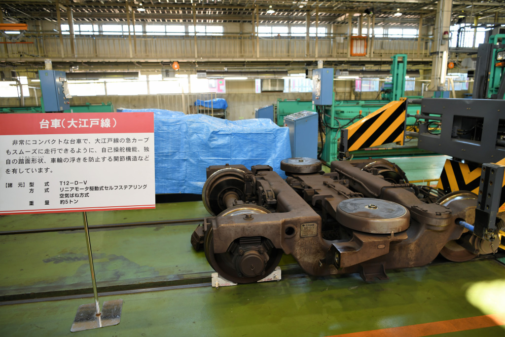 大江戸線車両 台車