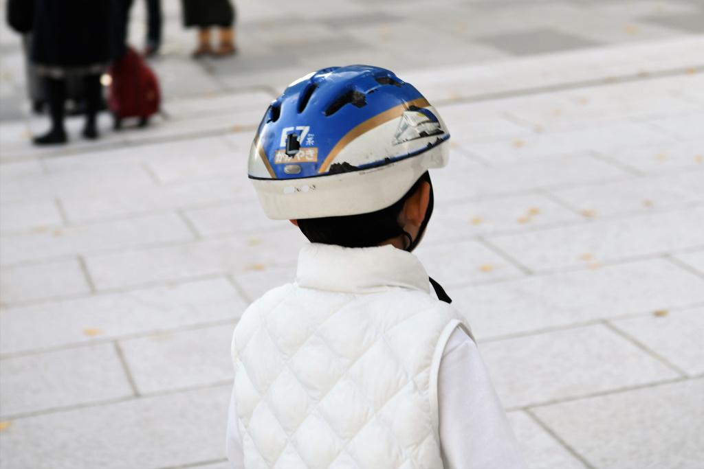 E7系 ヘルメット