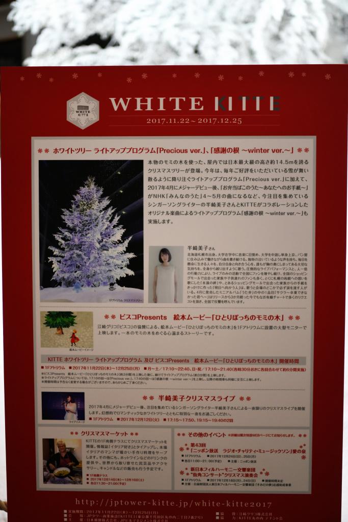 クリスマスツリー イルミネーション 説明板
