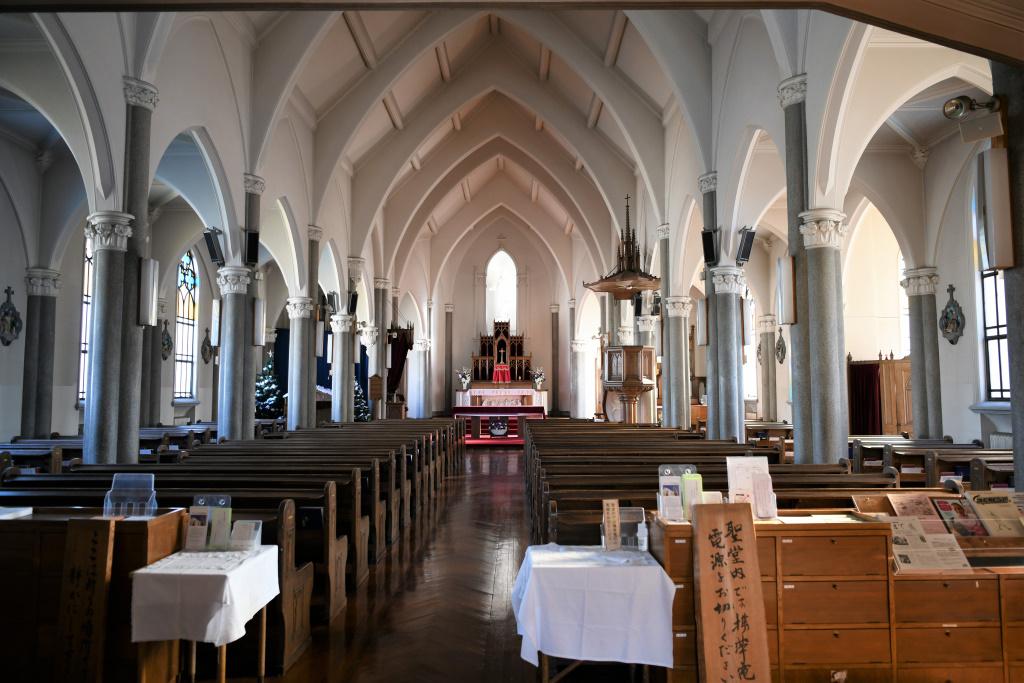 カトリック山手教会 聖堂内