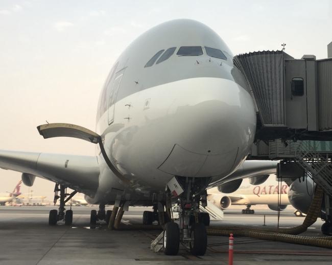 A380-800 A7-APH