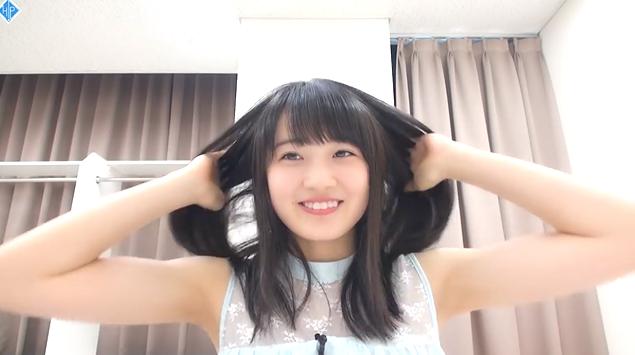 ハロ!ステ#250ちぃちゃんヘアアレンジ02