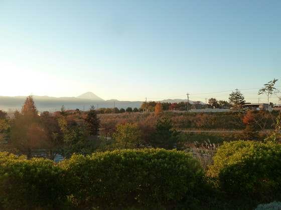 双葉SA(下り線)から見る富士山