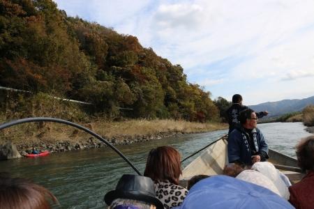 保津川下り(1)