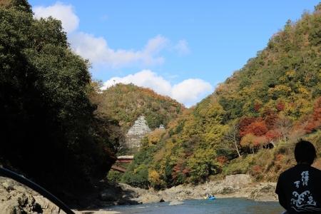 保津川下り(2)