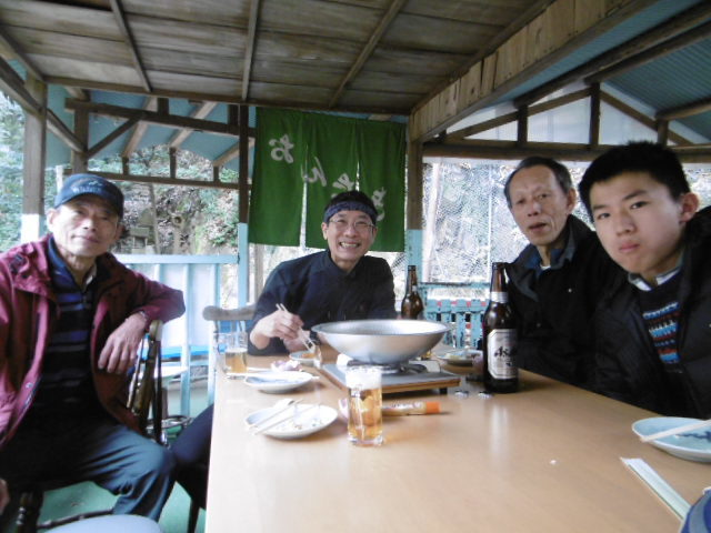 布引滝の茶屋