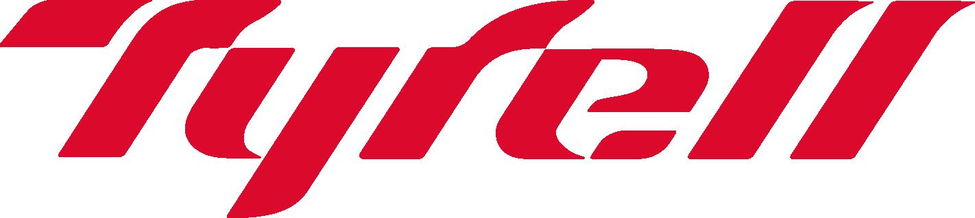 Tyrell ロゴ赤