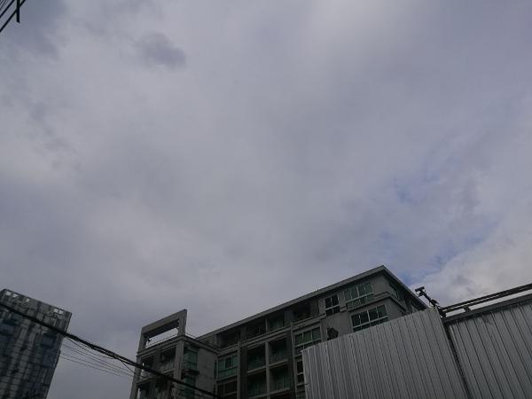 バンコクの空
