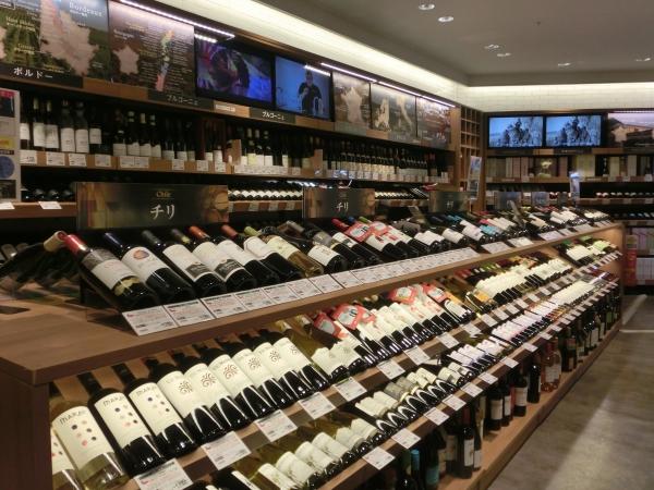 2階ワイン
