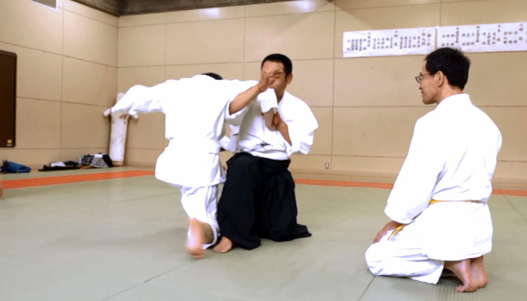 肘を制する(肘返し)2