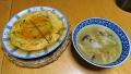 かに玉と春雨スープ 20171006