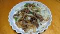 牛肉の野菜炒め 20171010