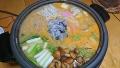 カキの味噌鍋 20171028