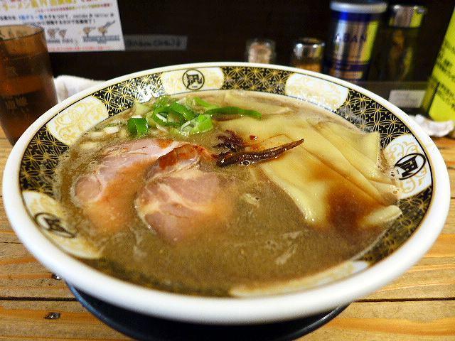 すごい煮干ラーメン凪 新宿ゴールデン街店本館@01煮干ラーメン 1