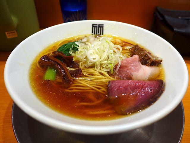 竹末東京Premium@01醤油そば 1