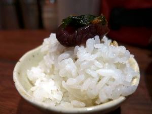 麺屋 ほぃ@02ほぃの肉盛りまぜそば 4