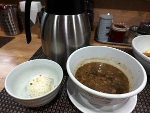 セアブラノ神 伏見剛力@01煮干醤油つけ麺 4