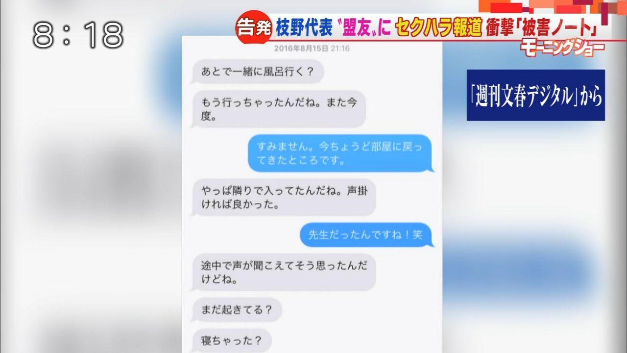 【立憲民主党】青山雅幸議員のセクハラ、秘書が告発!6-4